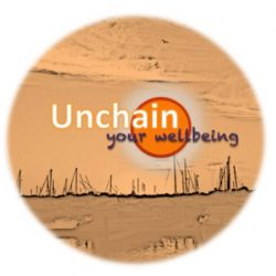 unchain your wellbeing logo